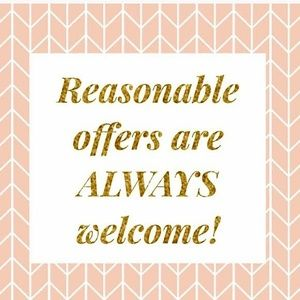 Other - Reasonable Offers Are Welcome!